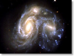 Interacting Galaxy NGC 6050 zoom