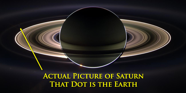 Creationism Saturn Picture